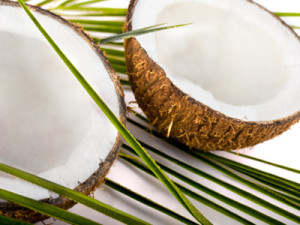 coconut oil on naturally curly hair