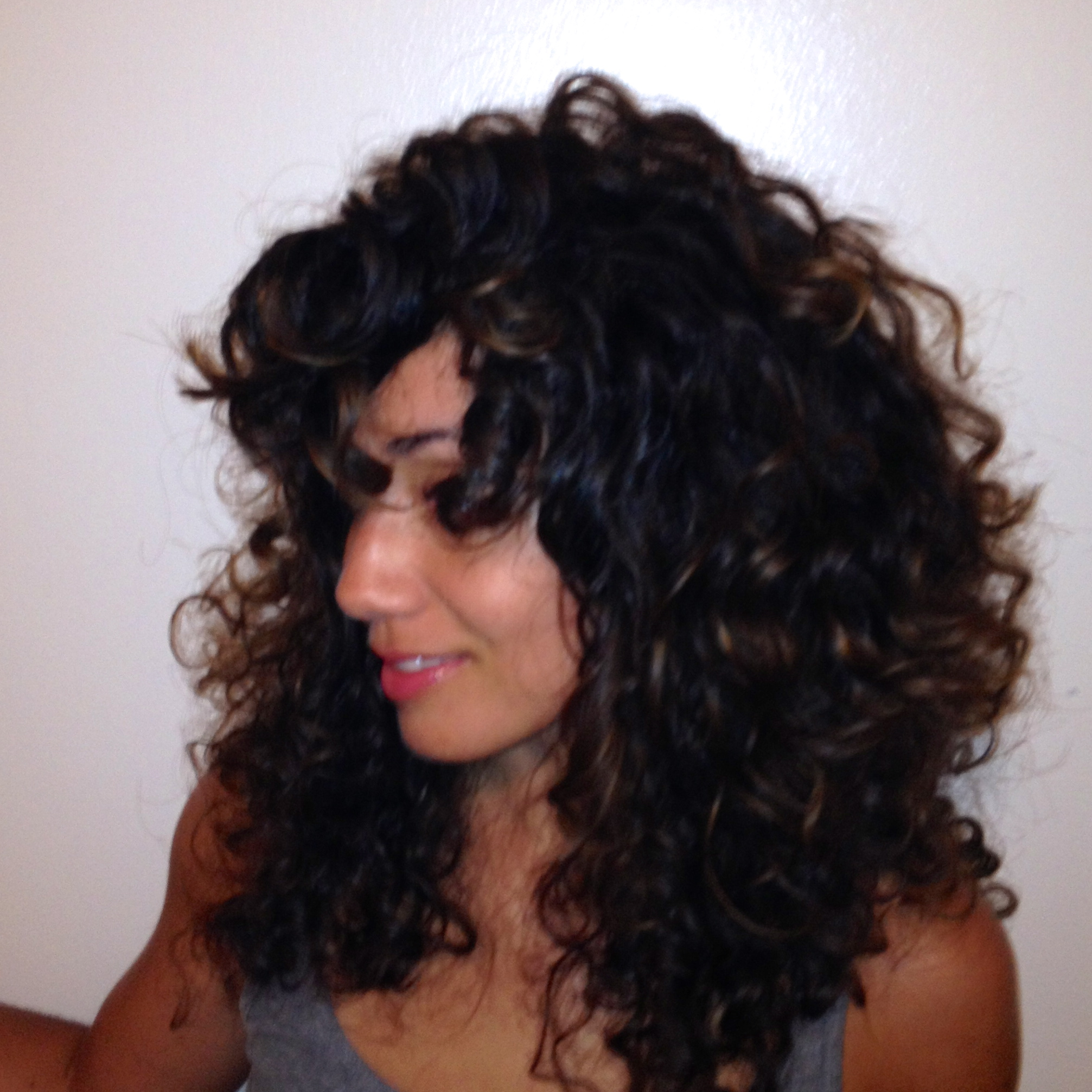how to fix bed head for curly hair