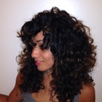 diffused curly hair