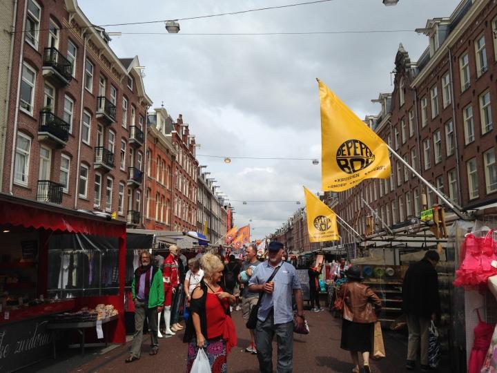 Amsterdam street market