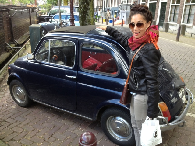 small cars in Amsterdam
