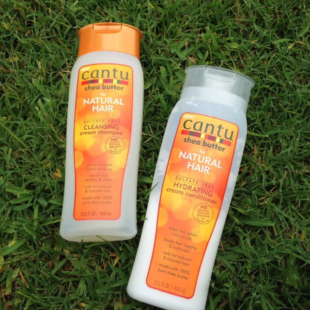 Cantu shampoo and conditioner