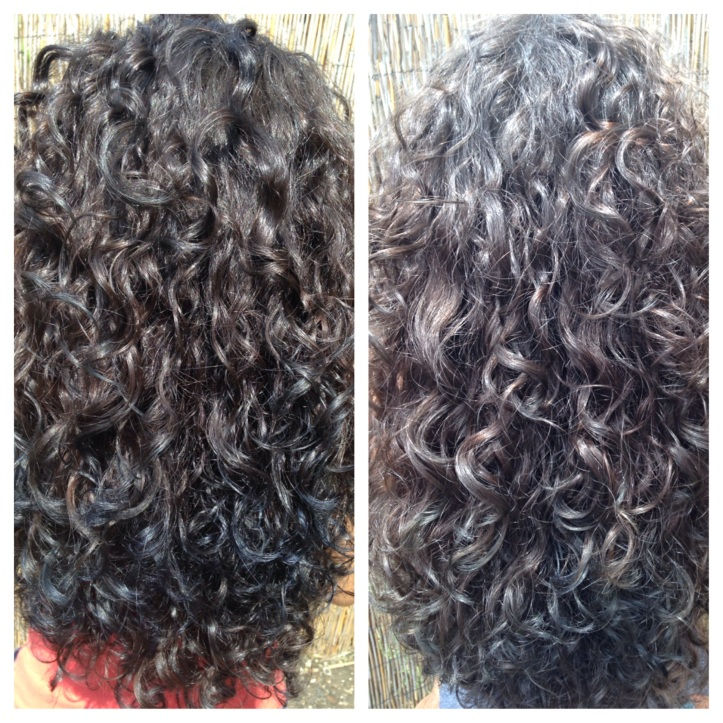 before and after vitamin C Method