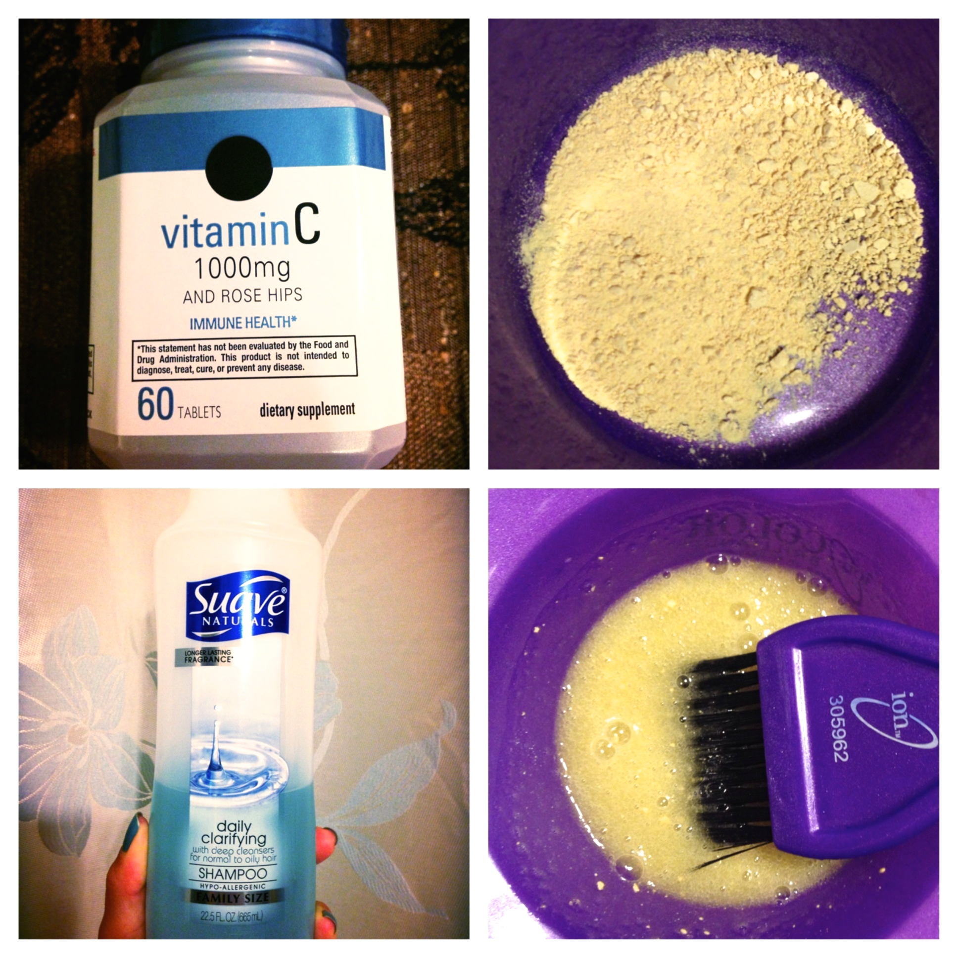 The vitamin c method for removing demi permanent hair dye curl on vitamin c method solutioingenieria Gallery