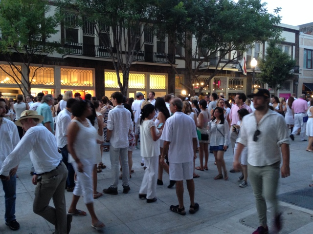 New Orleans White Linen Night 2014