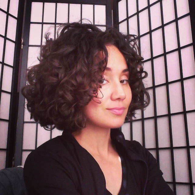 naturally curly bob