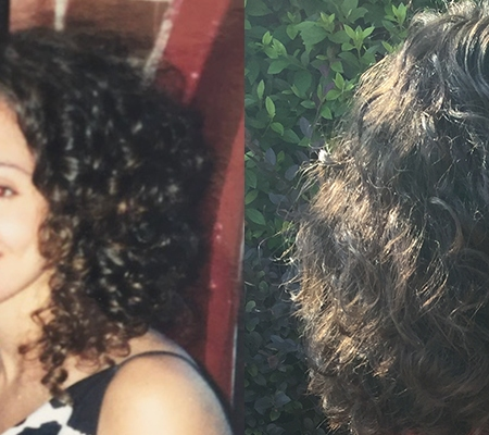 How pregnancy changes curl pattern
