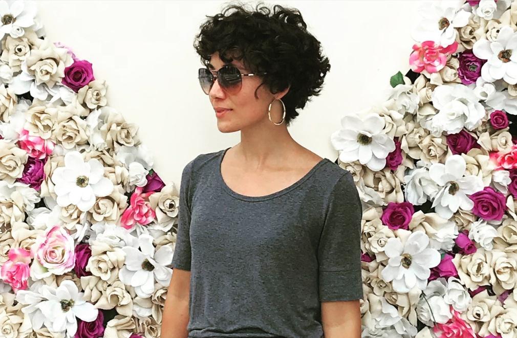 short natural curls