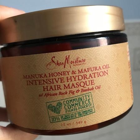 Review of Shea Moisture Manuka Honey and Mafura Oil Intensive Hydration Masque