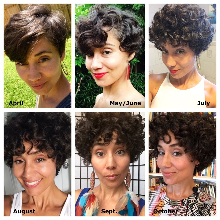Growing Out a Pixie: 6 Month Update